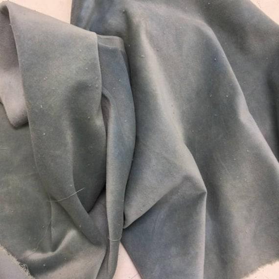 Velveteen - Blue Fescue - Lady Dot Creates - 18 x 10 inches
