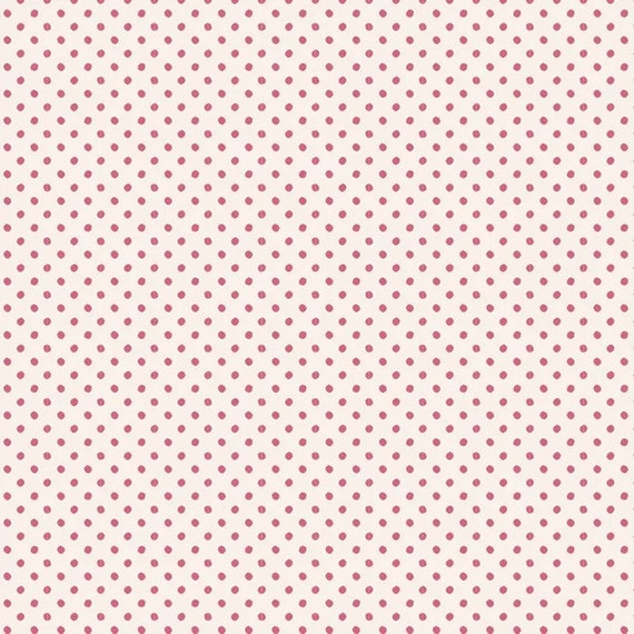 TILDA Classic Basics - Tiny Dots Pink 130046
