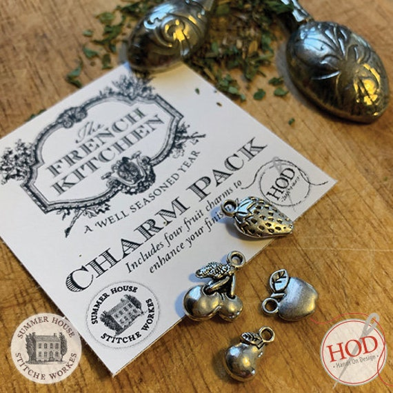 The French Kitchen Charm Set - Summer House Stitch Workes / Hands On Design