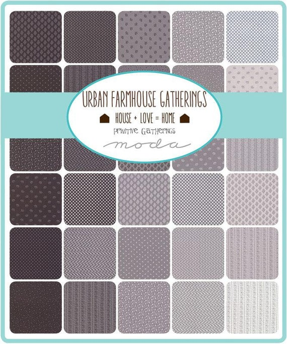 Urban Farmhouse Gatherings 2 by Lisa Bongean - 40 FQ Bundle