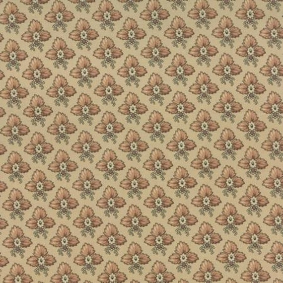 Community Trio of Leaves Natural 4619511 - 1/2yd