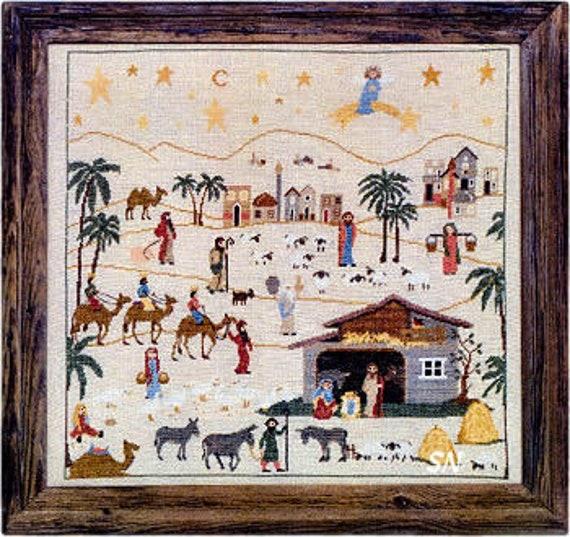 The Nativity (Prespe) - Sara Guermani - Cross Stitch Chart