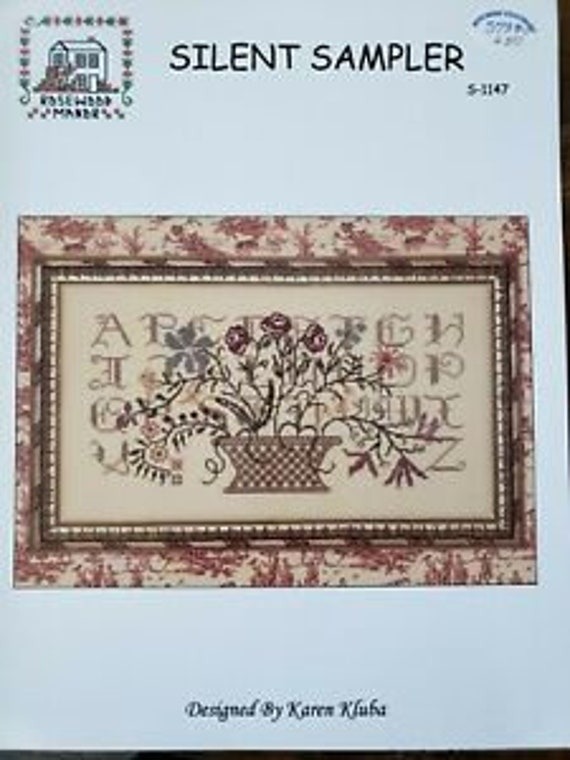 Silent Sampler - Rosewood Manor - Cross Stitch Chart