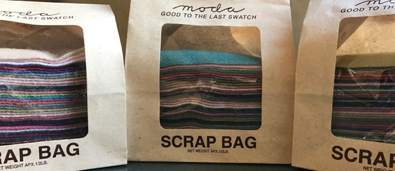 MODA Wool Scrap Bags