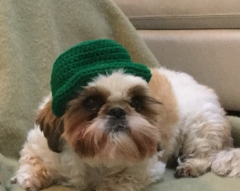 Notre Dame Inspired- Irish hat- Dog or cat -Top hat- crochet hat 39b4e30fc
