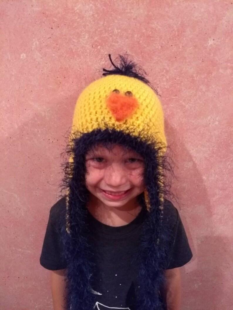 87b90995 Handmade crochet bird hat. Fits adult youth Easter hat. Photo | Etsy