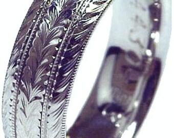 Palladium Men's ring