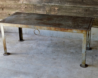 Industrial Steel Table **Local Pickup**