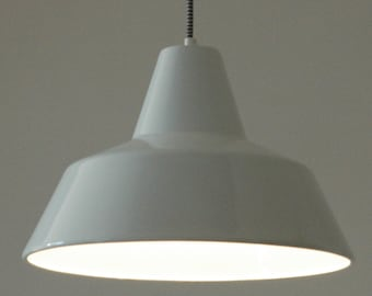 iconic lighting pendant louis poulsen arne jacobsen arbejdspendel probably the most iconic light ever vintage danish lamp iconic vintage lighting design by iconiclights on etsy