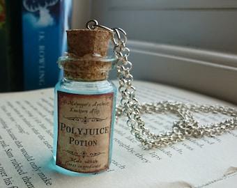 Harry Potter Inspired Potion Necklace - Polyjuice Potion