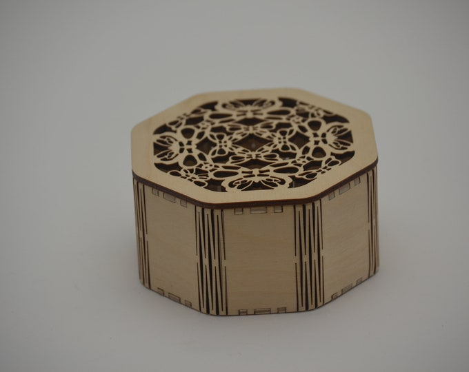 Octagonal Butterfly Box