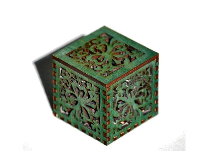 Tiny Green Cube