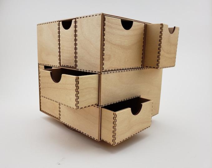 Cubic Desk Organizer