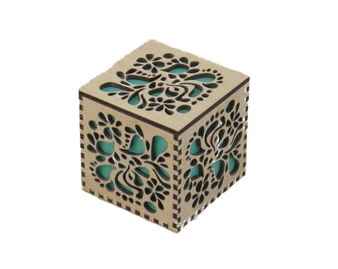 Small Cube from Matched Desk Set