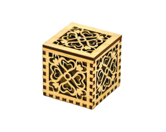 Tiny Heart Cube