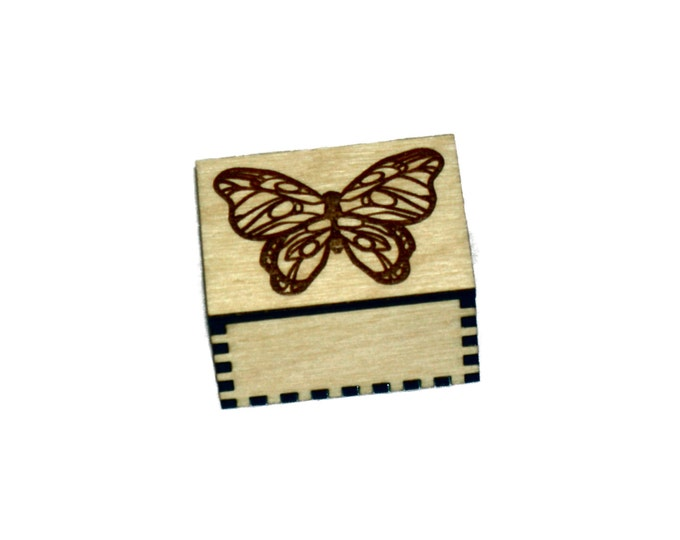 Butterfly Ring or Earring box