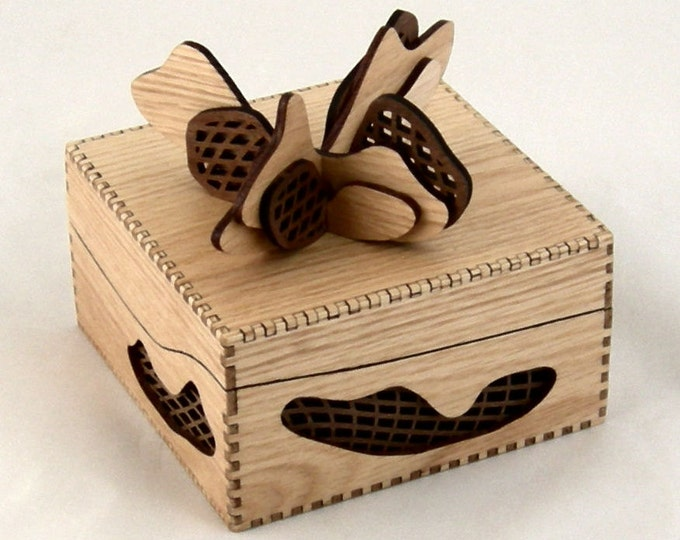 Gift Box - Oak and Walnut