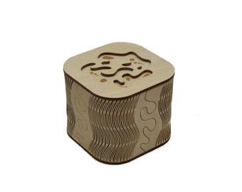 Curvy Plywood Box