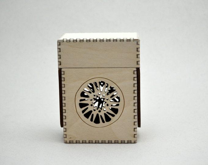 Solstice Fantasy Card Flip Top Box
