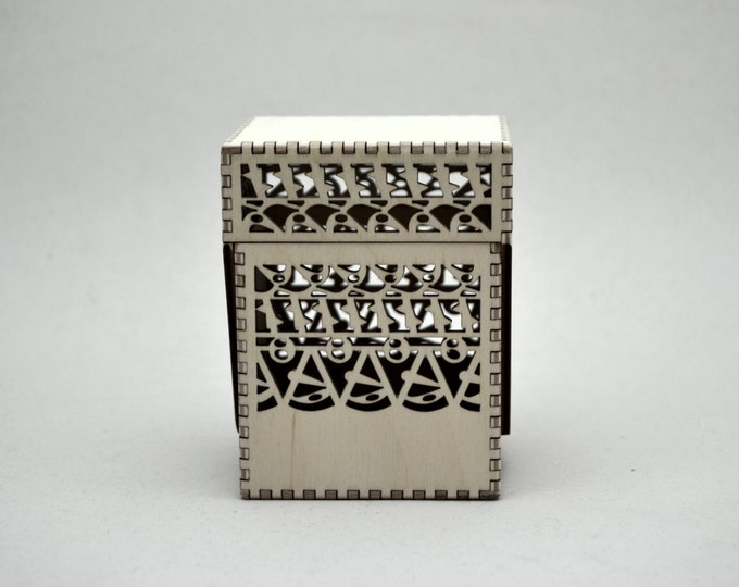 Brick Brac Design on Fantasy Card Flip Top Box