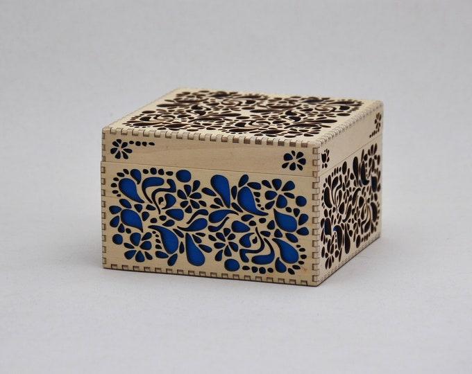 Tropical Floral Box - Large