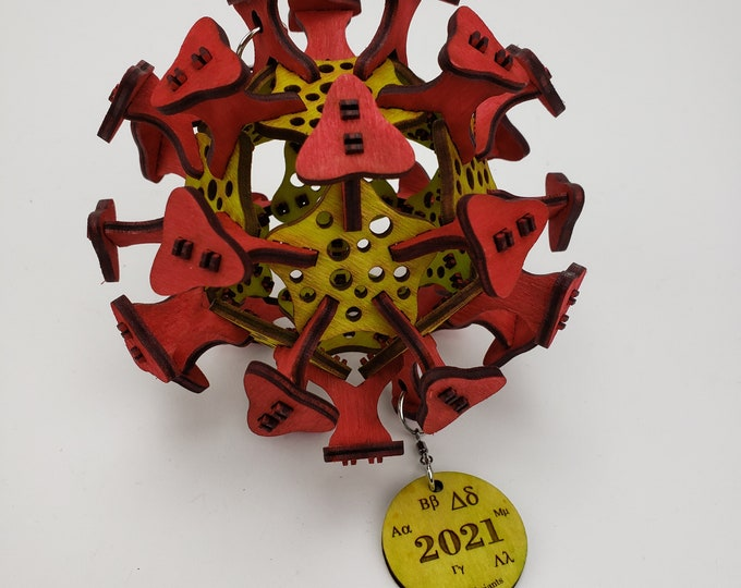 Covid Variant Ornament