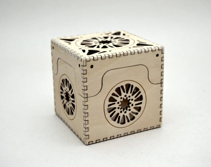Sun Box - Laser Cut Plywood Box