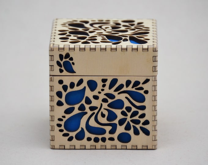 Tropical Floral Box - Small