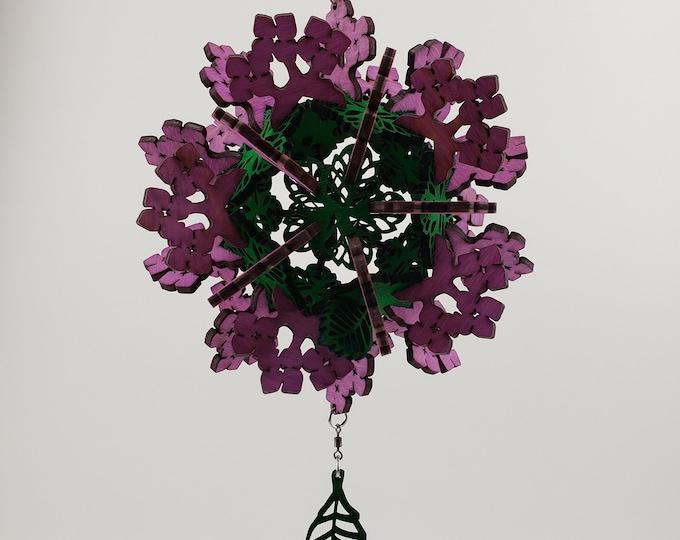 Hydrangea Ornament