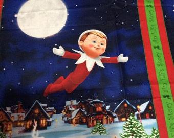 Elf on the Shelf  blanket Crib Size