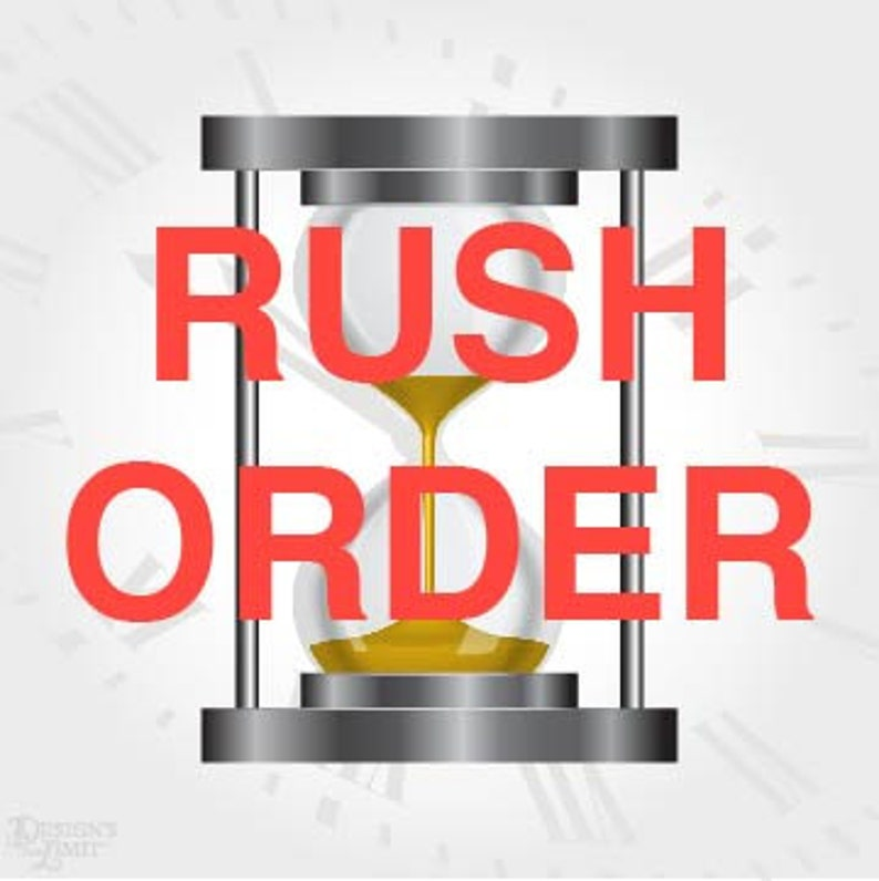 RUSH ORDER  Select Quantity of One and Select Number of Items image 0