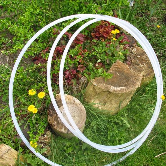 natural UV polypro or HDPE hula hoop--plain advanced 58