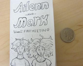 Ailenn and Mark: First Meeting Minicomic Zine