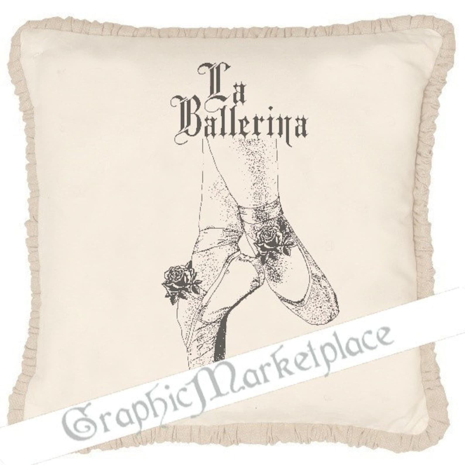 ballet shoes french ballerina transfer shabby transfer instant download digital collage sheet graphic printable ballerina no. 11
