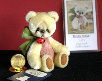 Briar Rose, Made by Ellery bears OOAK 9CM