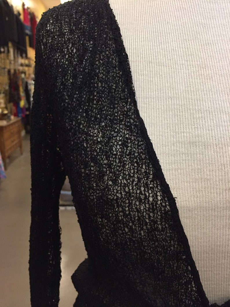 Knit cotton shrug