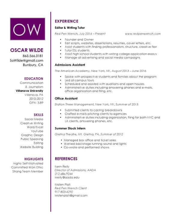 Resume & Cover Letter Template | Instant Download | Creative, Modern,  Professional Design