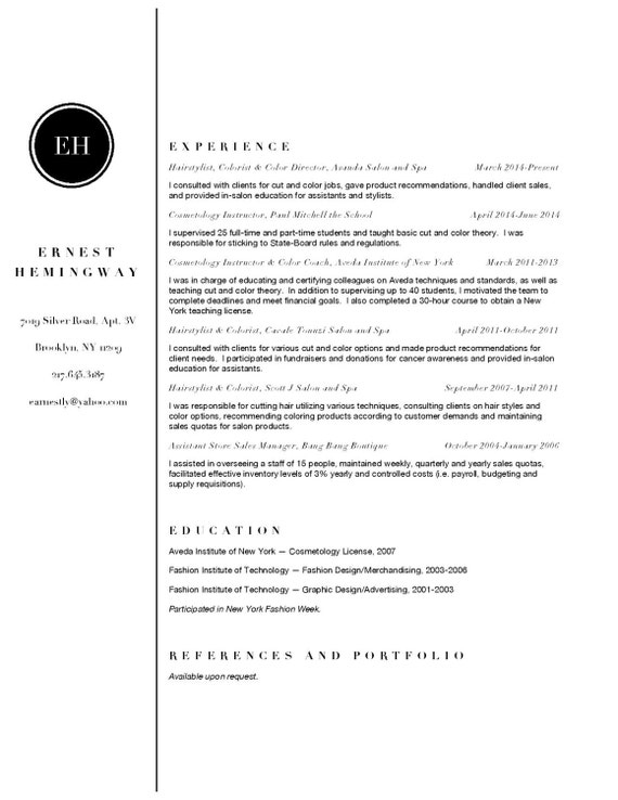 Classic Resume & Cover Letter Template - Instant Download - Professional  and Modern CV Design