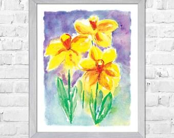 dd7385a0cd3 Yellow flowers art