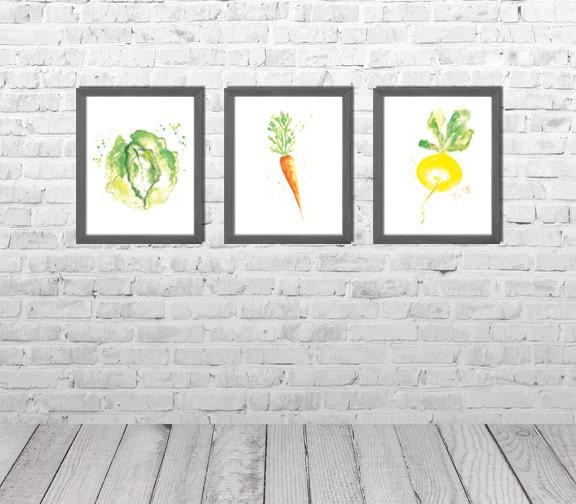 Kunst aan de muur keuken dining room decor keuken etsy for Kunst keuken