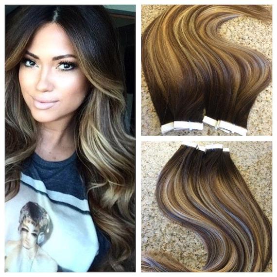 5 Star Ombre Balayage Cuticle Remy Human Hair Keratin Fusion Etsy