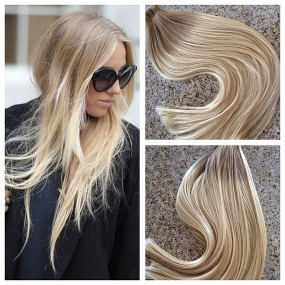 5 Star Ombre Cuticle Remy Human Hair Keratin Fusion Tape In Etsy