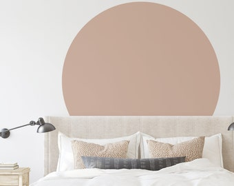 Wall Decal - Solid Circle - Wall Sticker - Room Decor