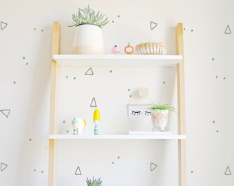 wall decal triangle dots wall sticker room decor