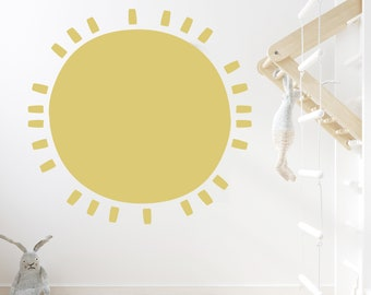 Full Sun - Solid Color  - Wall Decals - Wall Decor