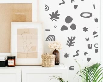 Wall Decal - Doodle Party - Wall Sticker room decor