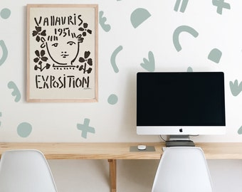 Wall Decal -Solid Fun Time - wall stickers