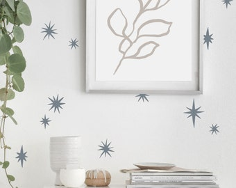 Wall Decal -Starbursts - wall stickers
