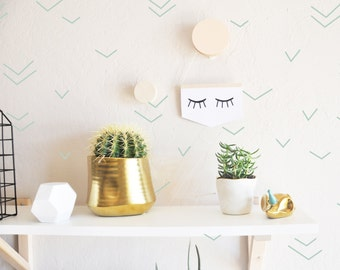 Thin Sketched Lines   - WALL DECAL