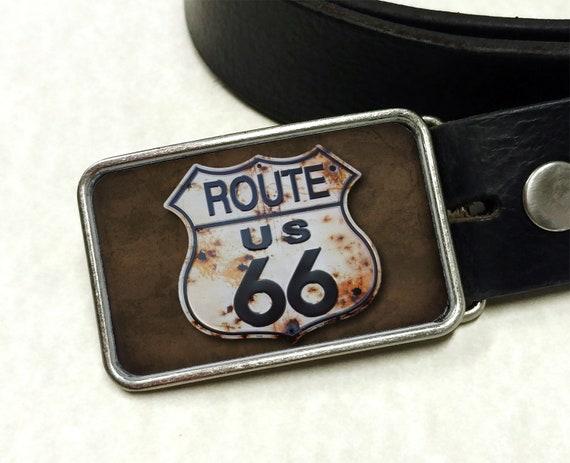 US 66 Belt Buckle